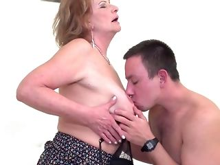 Coition starved moms take sprightly shafts into mouths and cootchies unconforming porn