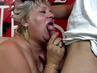 Round granny and mature matriarch shot at youthful peckers free porn